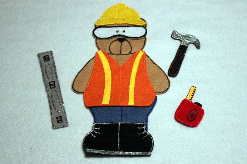 Construction Bear
