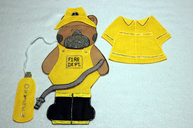 Firefighter Bear