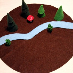 Forest Play Mat