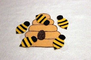 Five Bees & Hive